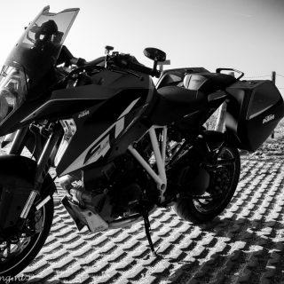KTM Supderduke GT op de Maasvlakte